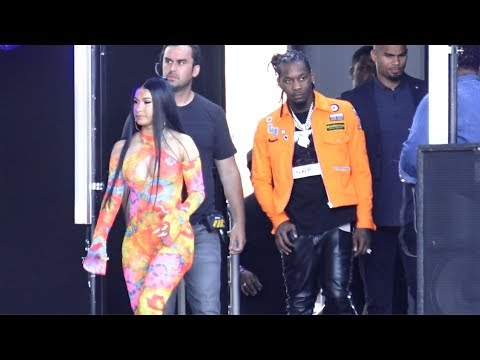 Cardi B And Offset At 'Jimmy Kimmel Live!' In Los Angeles