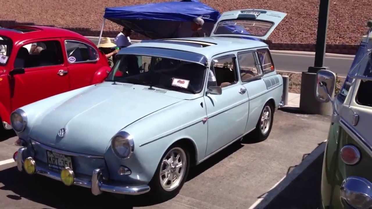 1969 Volkswagen Squareback Variant - YouTube