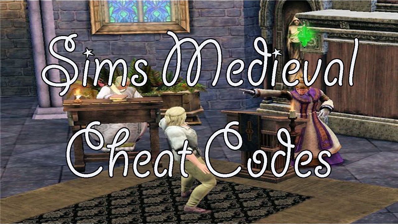 Sims Medieval Cheat codes - YouTube