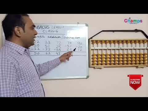 Abacus Free Level 1 Class 6 | Abacus Two Digit Addition |Two Digit Subtraction |addition Subtraction