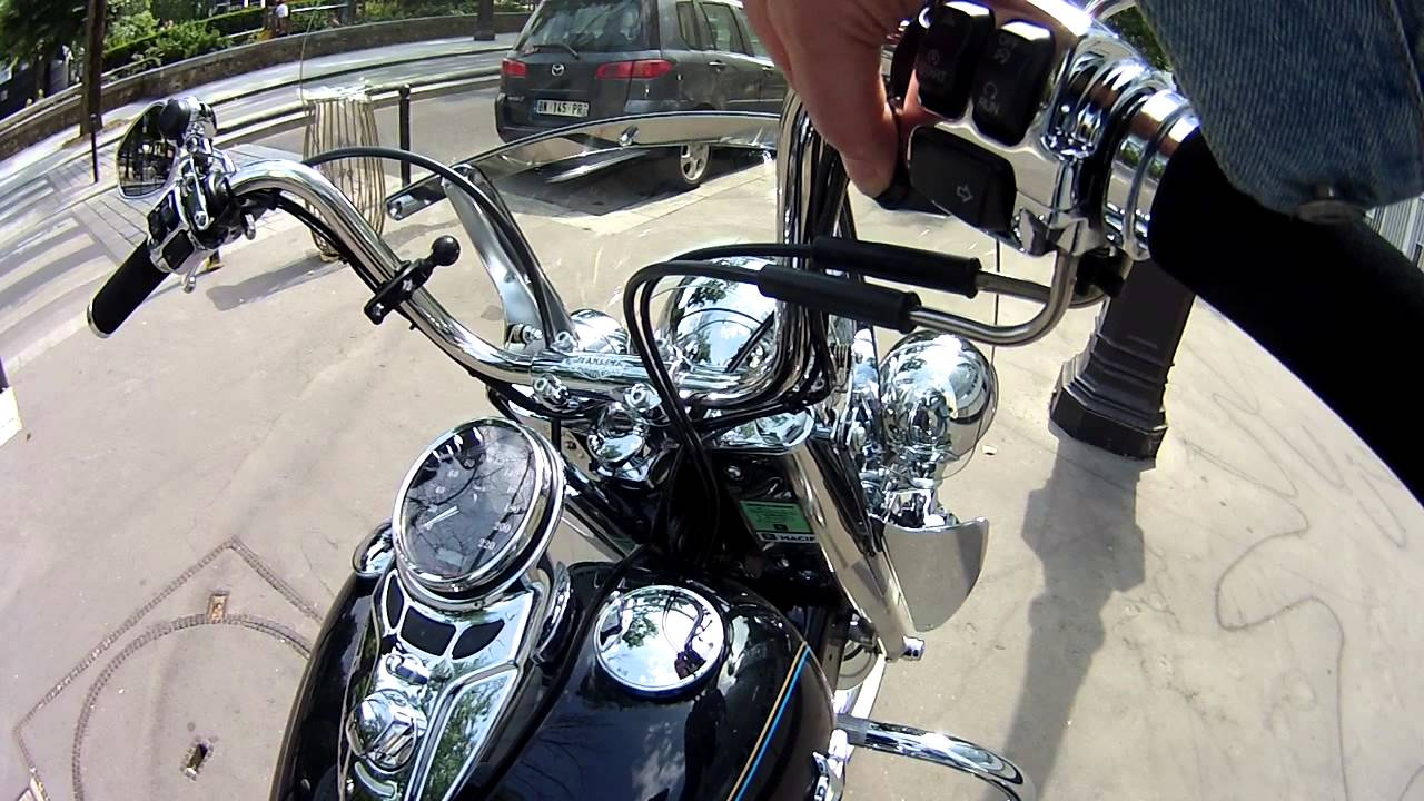 pots kess tech harley davidson h ritage softail youtube. Black Bedroom Furniture Sets. Home Design Ideas