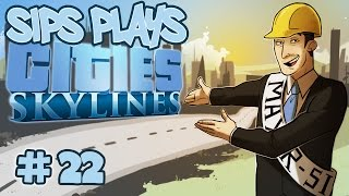 Going Underground (Sips Plays Cities: Skylines - Part 22)