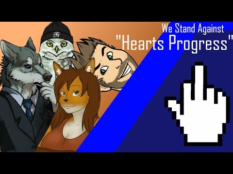 """We Stand Against """"Hearts Progress"""""""