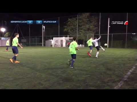 Lega Calcio a 8 Serie B  Deportivo la Candrega - Atletico Eur Jr 2-2 Terza Giornata