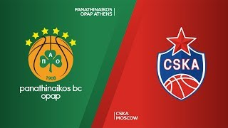 panathinaikos opap athens cska moscow highlights turkish airlines euroleague rs round 15