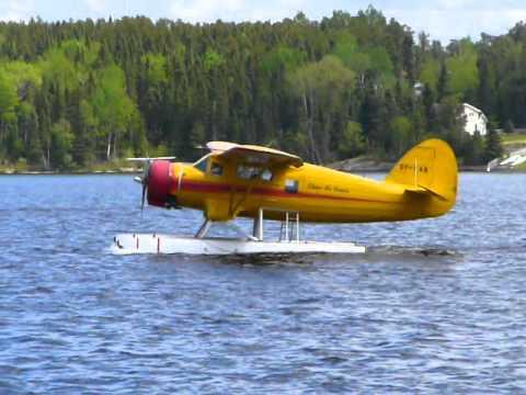 Chimo Air Norseman CF-KAO at Red Lake, Ontario.
