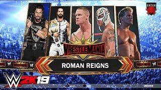 WWE 2K19 Road To Wrestlemania - THE RISE OF THE FIGHTING CHAMPION ft. Rollins, Lesnar Concept/Notion