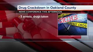 Sheriffs to discuss drug crackdown in Oakland County thumbnail