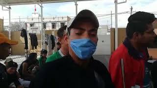 Migrantes llegan a San Luis Potosí, hay algunos casos de influenza