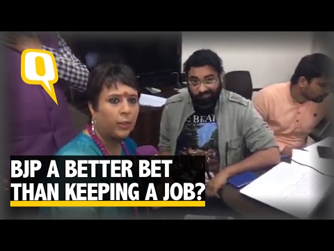 The Quint  Why are people quitting jobs to join BJP?