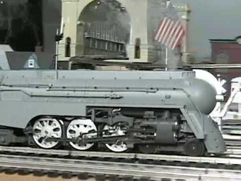 MTH Premier NYC Dreyfuss Hudson (4-6-4) O-Gauge Steam Locomotive