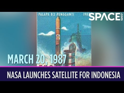 OTD in Space – March 20: NASA Launches Palapa B2P Satellite for Indonesia