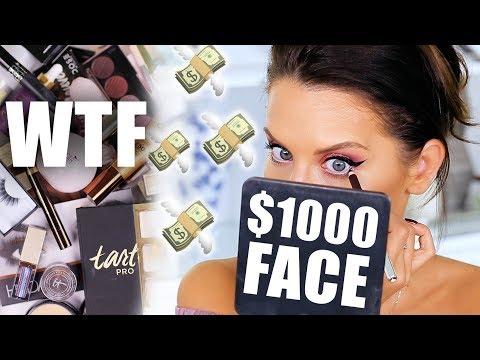$1,000 MAKEUP TESTED ... WTF | First Impressions