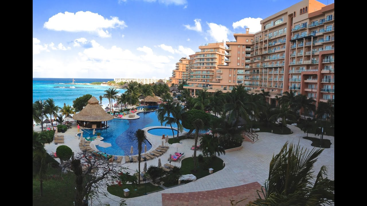 Fiesta americana grand coral beach resort spa cancun mexico mexican beach review youtube