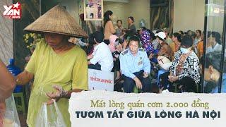 Mát Lòng Quán Cơm 2.000 Đồng Tươm Tất Giữa Lòng Hà Nội | Món Ngon Yan Food