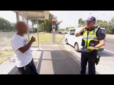 A Man Quotes Maritime Law To Avoid Ticket