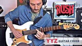 'YYZ' Rush GUITAR COVER - Rocco Saviano/Guitars