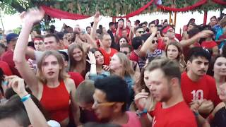 Walk around Guaba Beach Bar with Guabarazzi - Red Sunday 2017 - ANGEMI