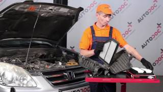 Jak vyměnit vzduchový filtr motoru na HONDA CR-V 2 [NÁVOD]