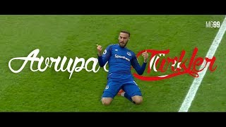 Turkish Football Players in Europe 2017/18 - Great Goals