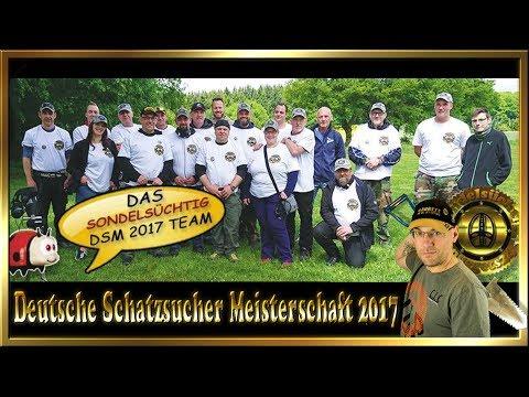 Deutsche Schatzsucher Meisterschaft 2017 Osburg Team Sondelsüchtig