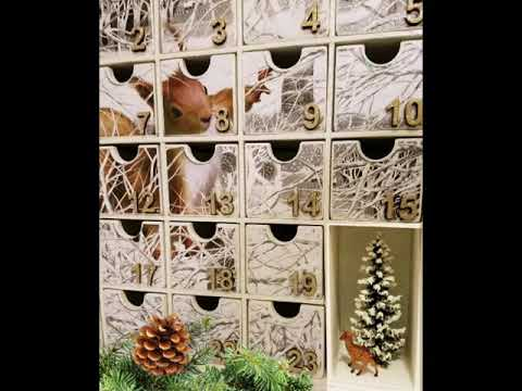 Handmade Christmas gifts Diy Wooden Advent Calendars