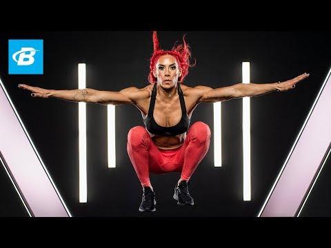 Monster Monday At-Home HIIT Workout | Hannah Eden's FYR 2.0
