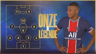Le onze de légende de Kylian Mbappé  📋