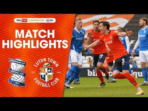 Birmingham Luton Goals And Highlights