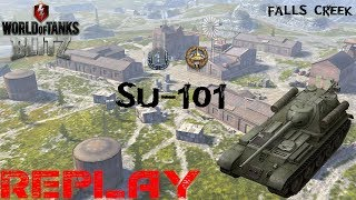SU 101  Falls Creek Aggressive play