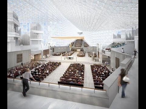 DIOCESE OF ORANGE UNVEILS DESIGN PLANS FOR CHRIST CATHEDRAL