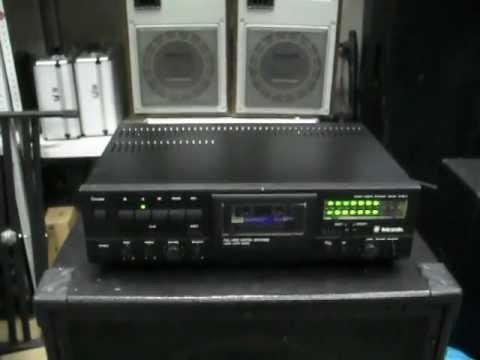Cassette Tape Recorder.