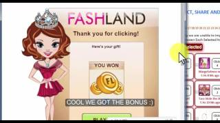 Collect Fashland Dress Up For Fashion Bonuses Shared By Other Players : Gameskip.Com