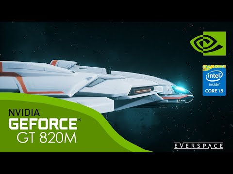 Everspace | NVIDIA GeForce GT 820M | Intel Core i5 4th Gen | Game Test |