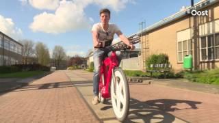 Larcom in Ommen gaat mogelijk 'onverwoestbare' fiets uit Zwolle produceren