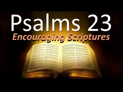 PSALMS 23   Encouraging Scriptures