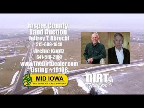 -AUCTION- Jasper County, Iowa. 35 acres m/l.