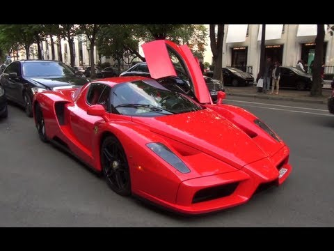 epic ferrari enzo - Ferrari Enzo Red And Black