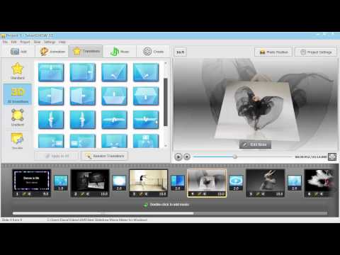 Best Slideshow Movie Maker for Windows: Create Brilliant Music Slideshows with 3D Animation!