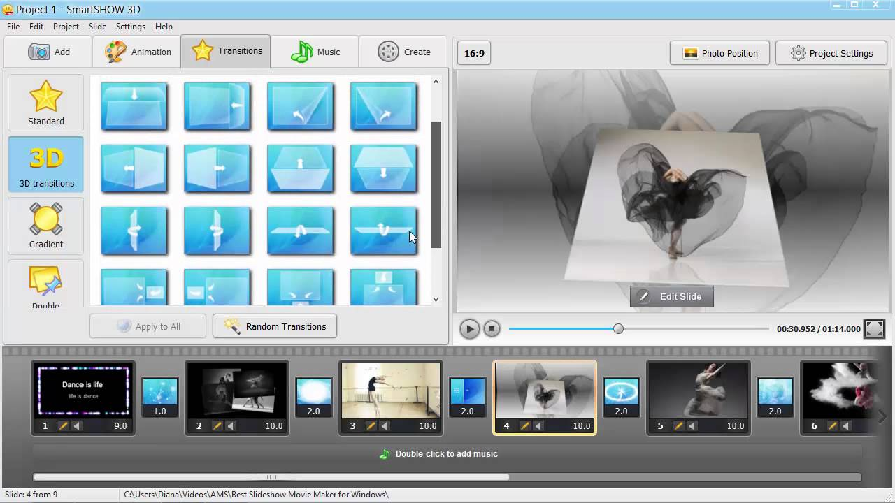 Best slideshow movie maker for windows create brilliant for 3d building creator