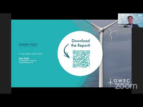 Report Launch I Global Offshore Wind Report 2021