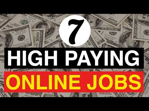 6 Best Online Jobs That Pay Big Money | High Paying Jobs You Can Start Today