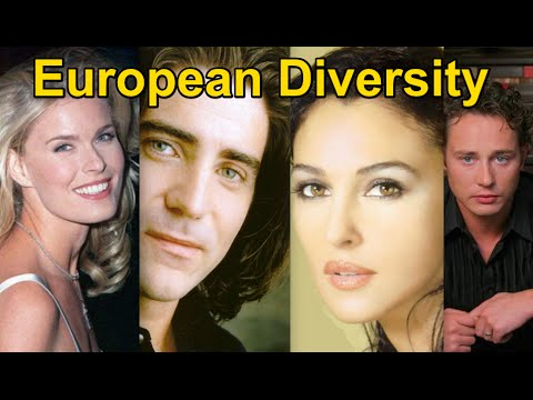 The Six European Subraces