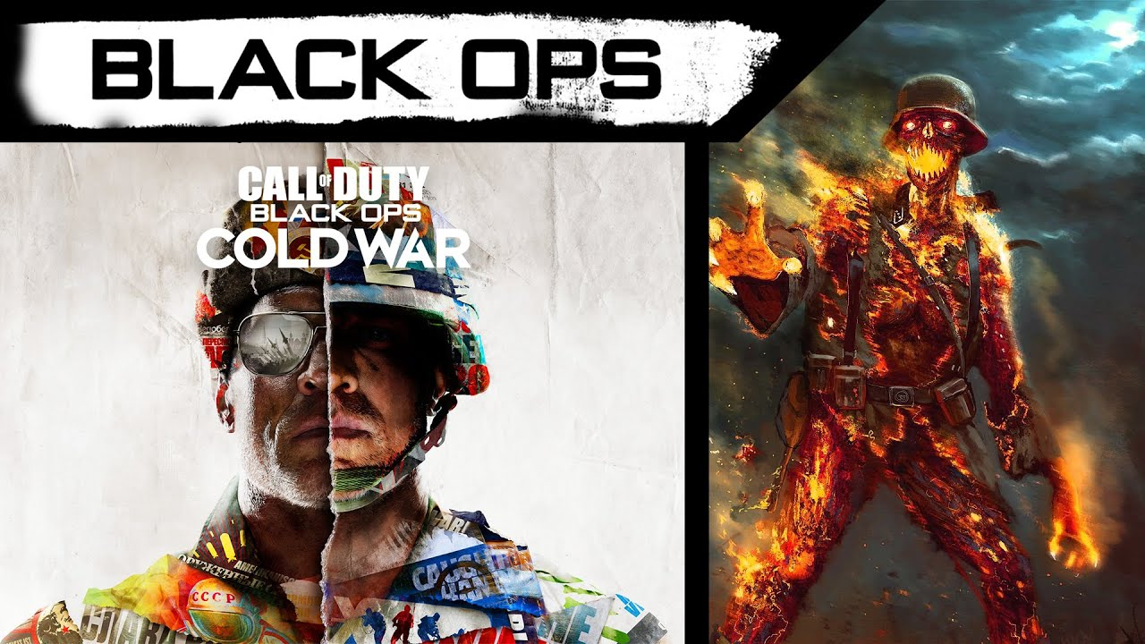 Call Of Duty Black Ops Cold War Zombies New Leaked Info Cover Art Reveal By Treyarch Cod 2020 Youtube