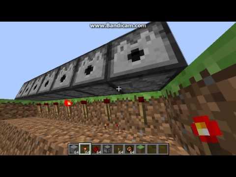 Minecraft Savaş Aletleri-Sınırsız Ateş Topu Makinesi-