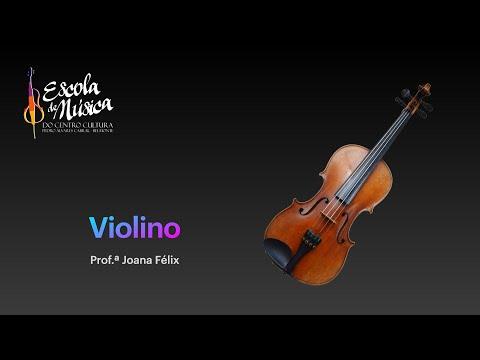 Violino | Prof.ª Joana Félix