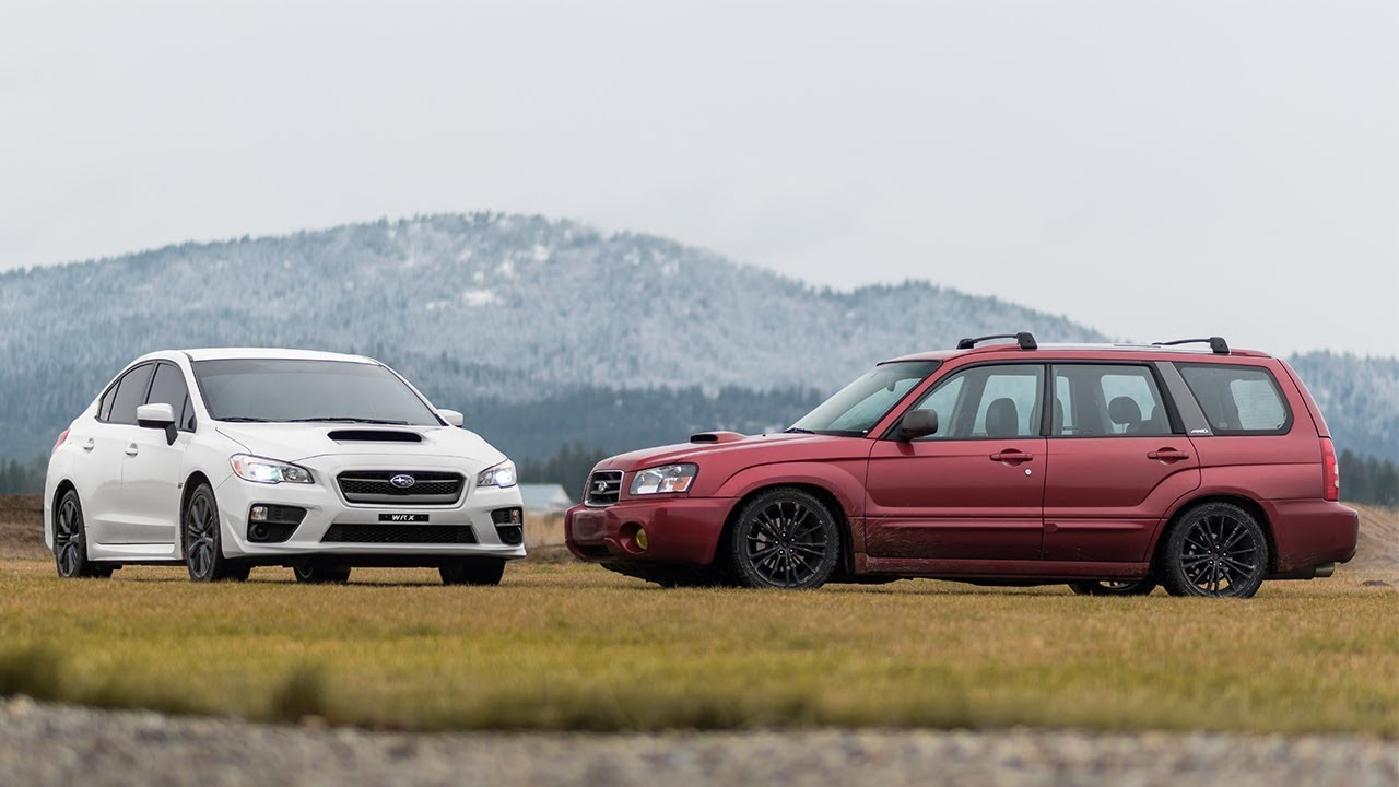 Subaru forester xt vs wrx