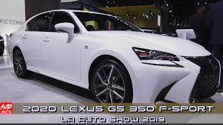 2020 Lexus GS 350 F-Sport - Exterior And Interior - LA Auto Show 2019