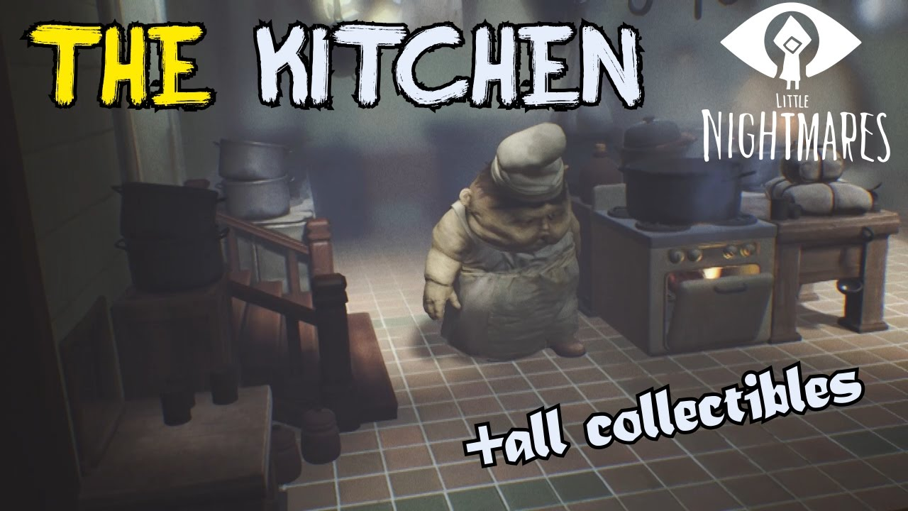 Little Nightmares Kitchen Collectibles