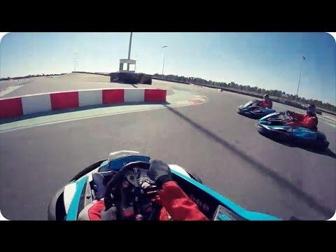 GOPRO KARTING CRASH | Bahrain International Karting Circuit (Daily Vlog 215)